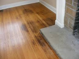 Hardwood Floors Stain Removal