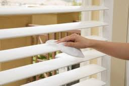Cleaning Interior Blinds